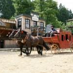 Westernové městečko Šiklův mlýn - Zvole nad Pernštejnem