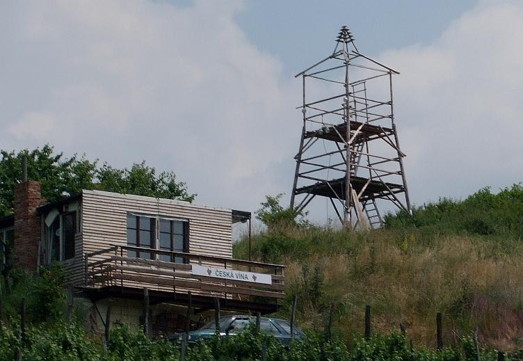 Rozhledna Zvonička u Otmíče u Berouna