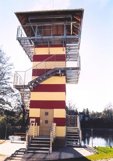 Vyhlídková věž v Rožmitále pod Třemšínem