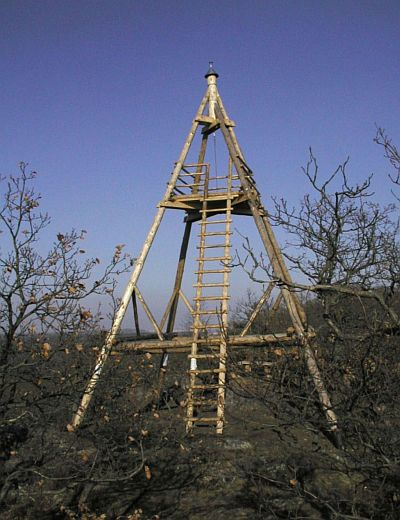 Rozhledna Vysoký vrch u Malých Kyšic